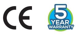 CE warranty logos